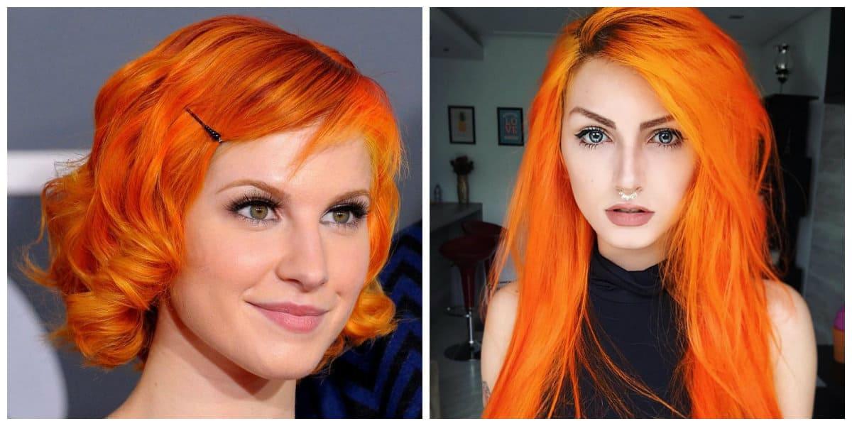 Orange Hair 2019 The Most Stylish Shades And Trendy Orange Hair