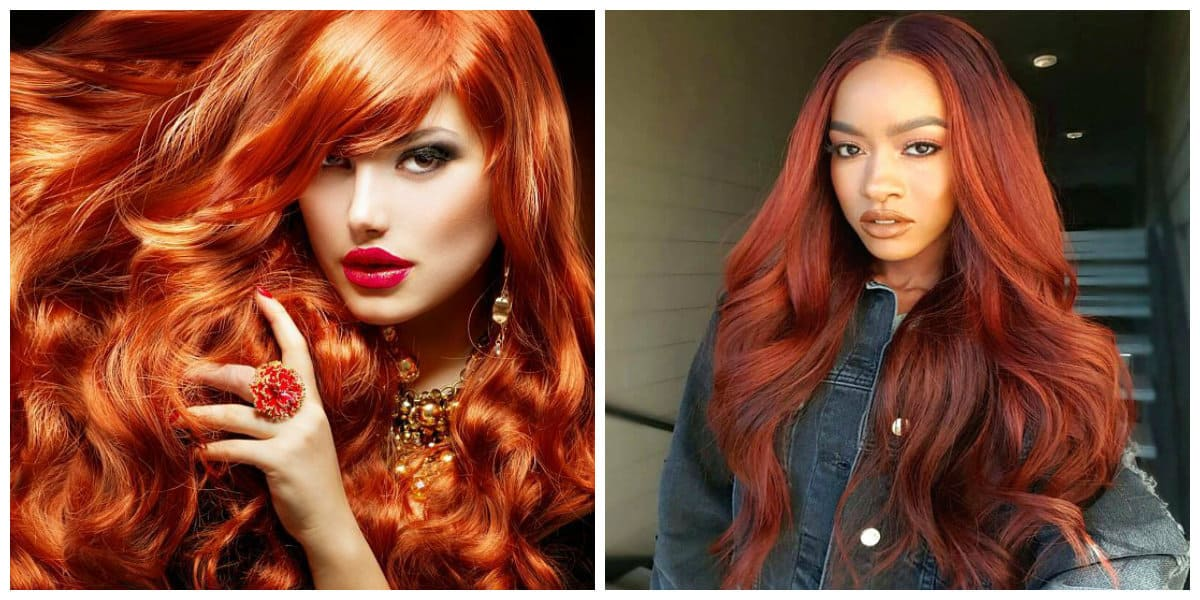 Red hair colors 2019: Top stylish red hair trends 2019 and fashion tips \u2013 COOL HAIRCUTS