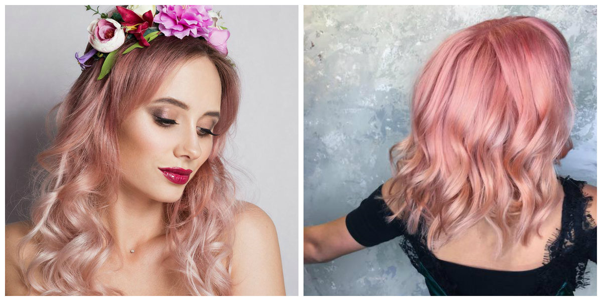rose gold hair 2019, stylish tips for rose gold hair care 2019