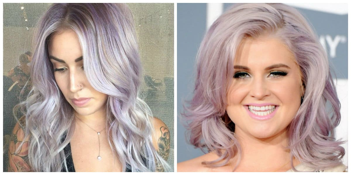 rose gold hair 2019, lavender hair color with ashy blond hair color