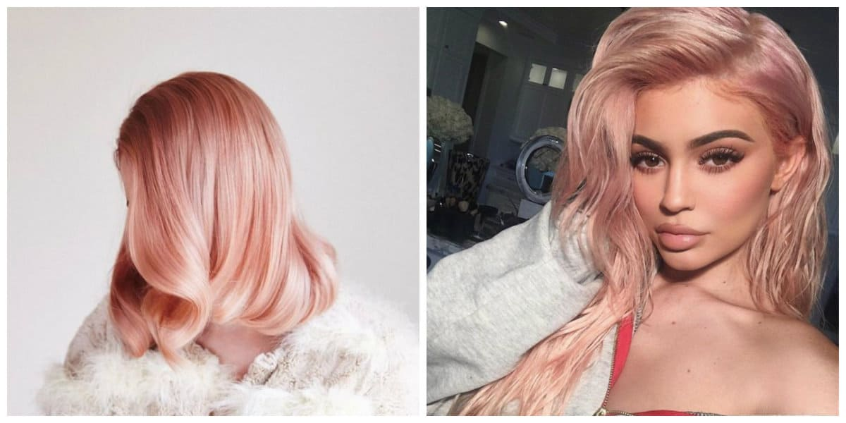 rose gold hair 2019, trendy ideas for rose gold hair 2019