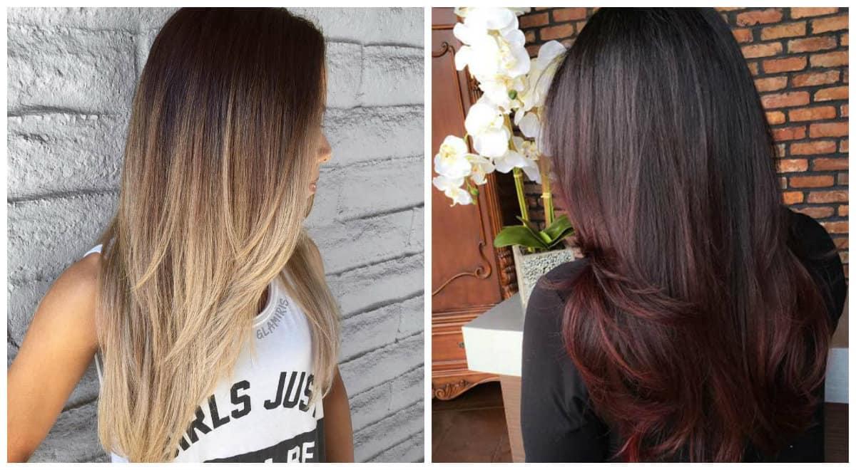 straight hairstyles 2019, stylish cascade straight hair 2019