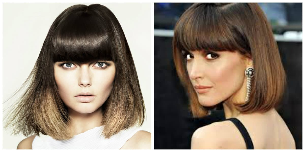 womens hairstyles 2019, fashionable hairstyles with thick bangs