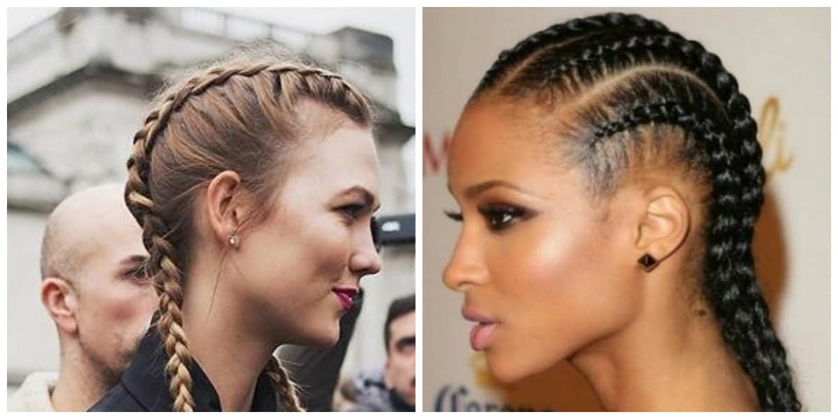 womens hairstyles 2019, weave pigtails in womens hairstyles 2019 trend