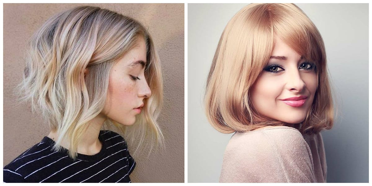 womens short hairstyles 2019, fashionable bob hairstyle 2019