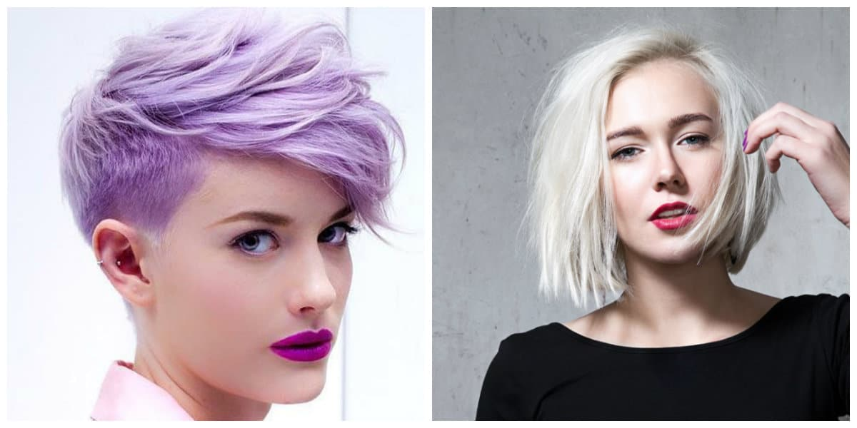 womens short hairstyles 2019, messy bob 2019, pixie hair 2019