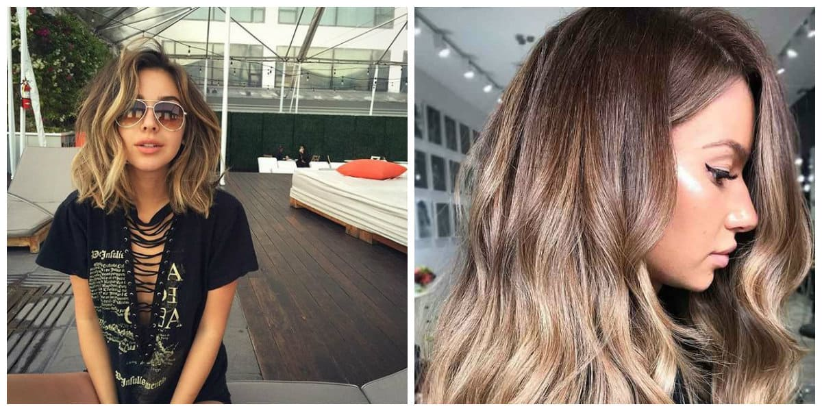 dark blonde hair 2019, stylish combinations and trends for dark blonde hair