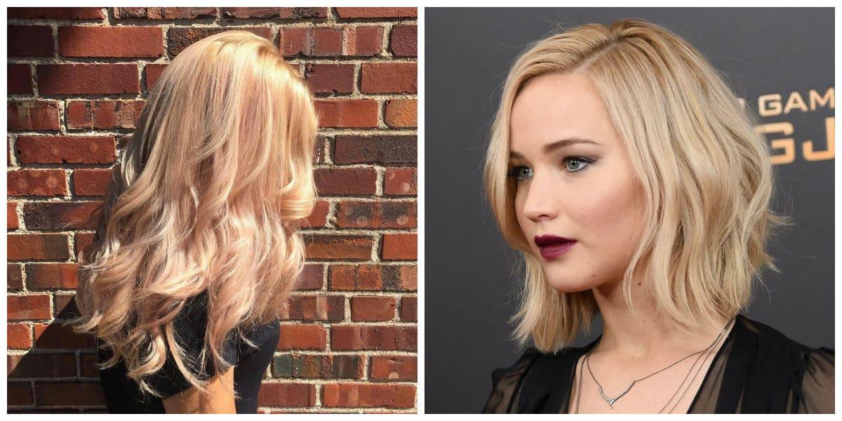 golden blonde hair 2019, golden blonde hair for spring type ladies
