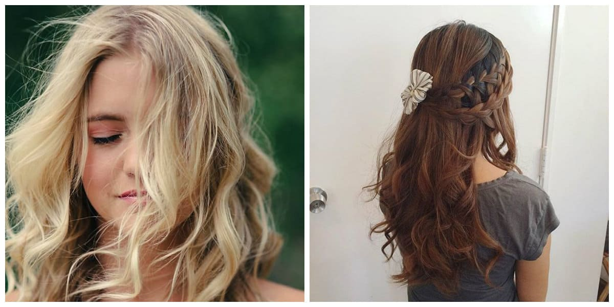 hair cutting style 2019, romantic hairstyles 2019 ideas and trends