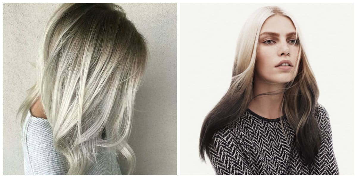 hair cutting style 2019, smoky transition hair styling idea