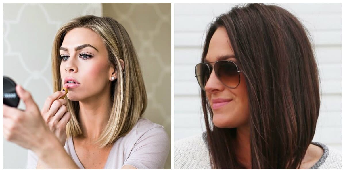 The Top Trending Haircuts That You Want To Try In 2019: Long Bob Hairstyles 2019: Best Options And Tips (Photos