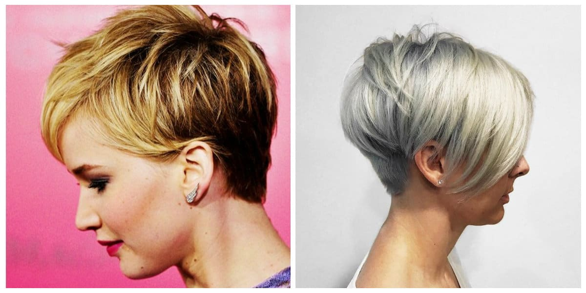 short layered hairstyles 2019, pixie layered hairstyle 2019