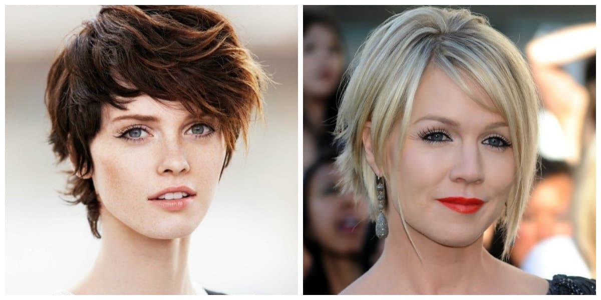 short layered hairstyles 2019, top modish updos with layers for short hair