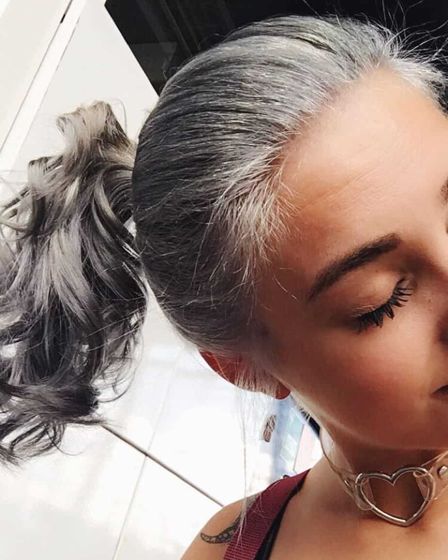 Granny Hair 2021: Fashionable Hues Of Gray And Tips On Staining Technique