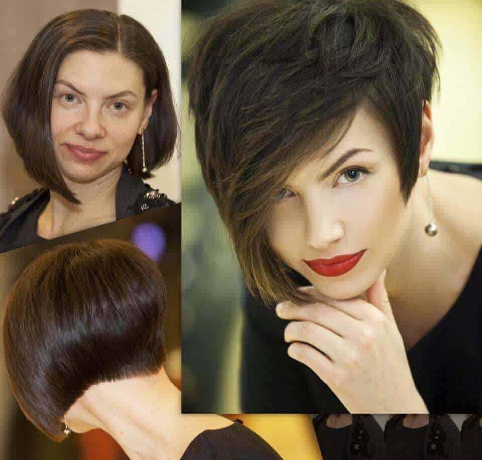 Short hairstyles for women 2021: Modish updos for short hair