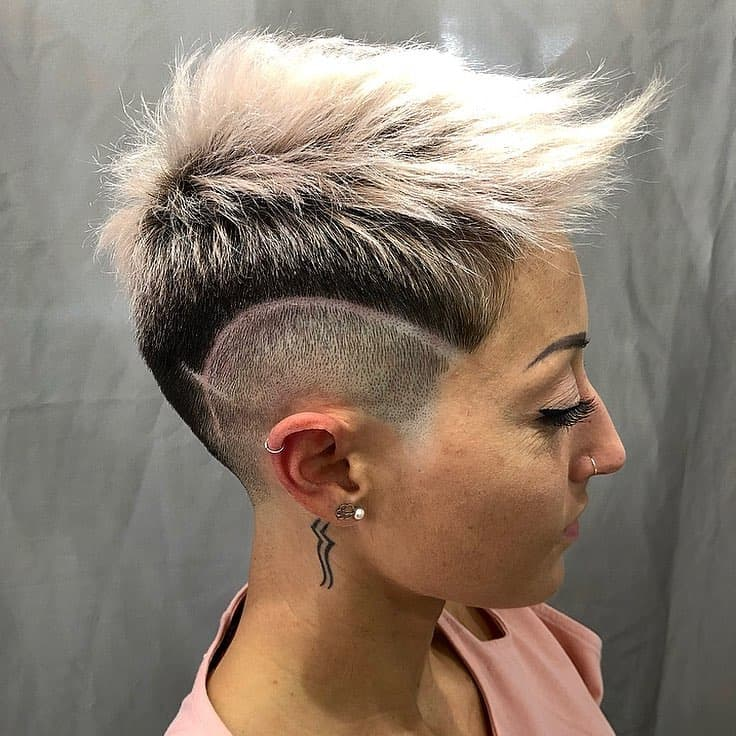 Short-haircuts-for-thin-hair-2019