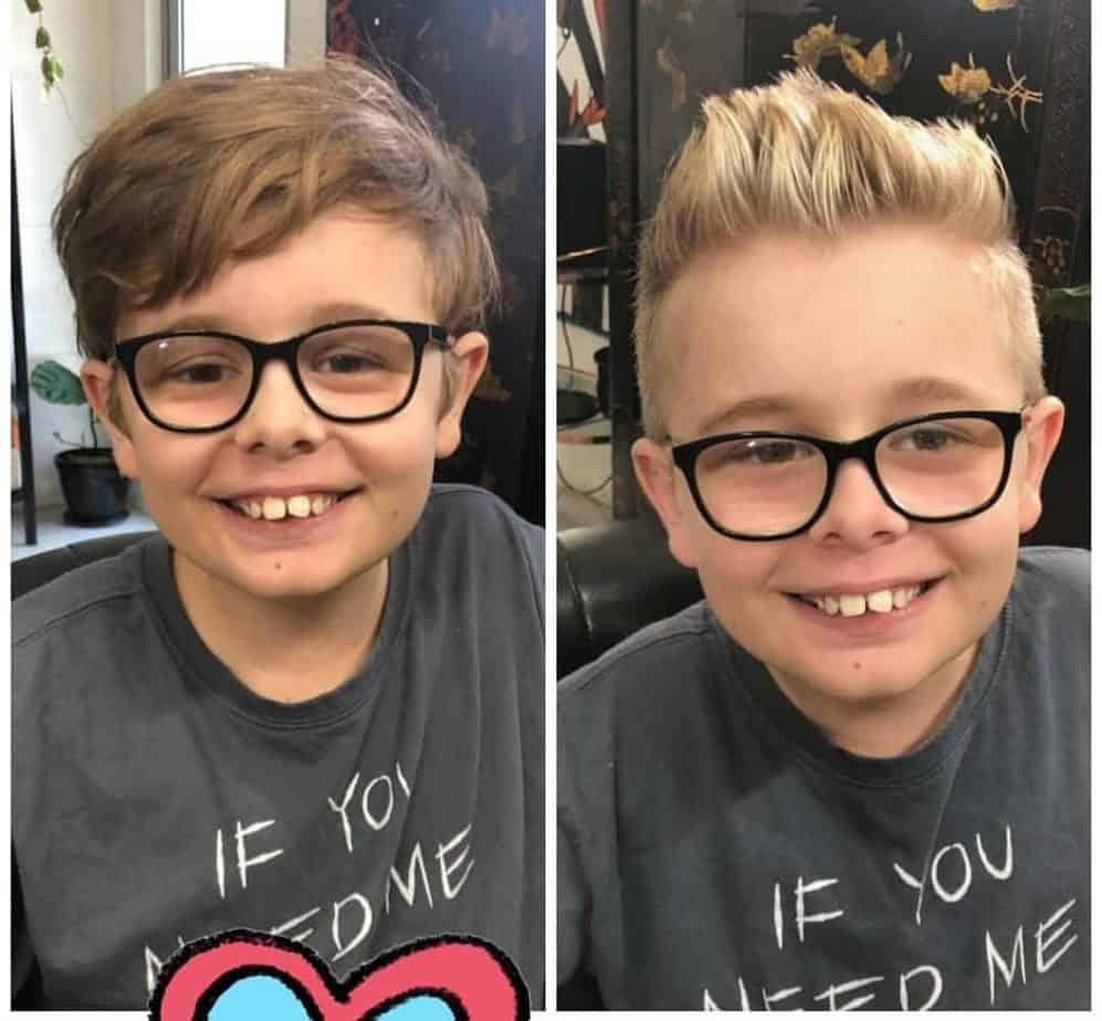 Spiky cool haircuts for boys 2020