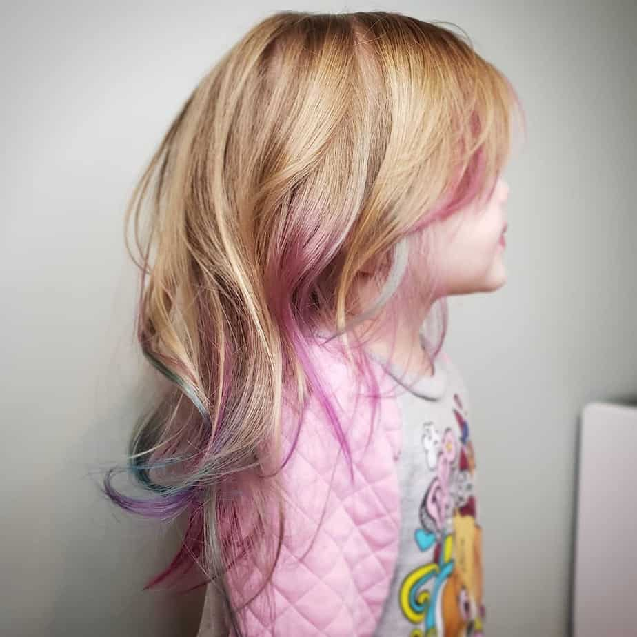 Cool hairstyles for girls 2020 aged 3 – 4 years