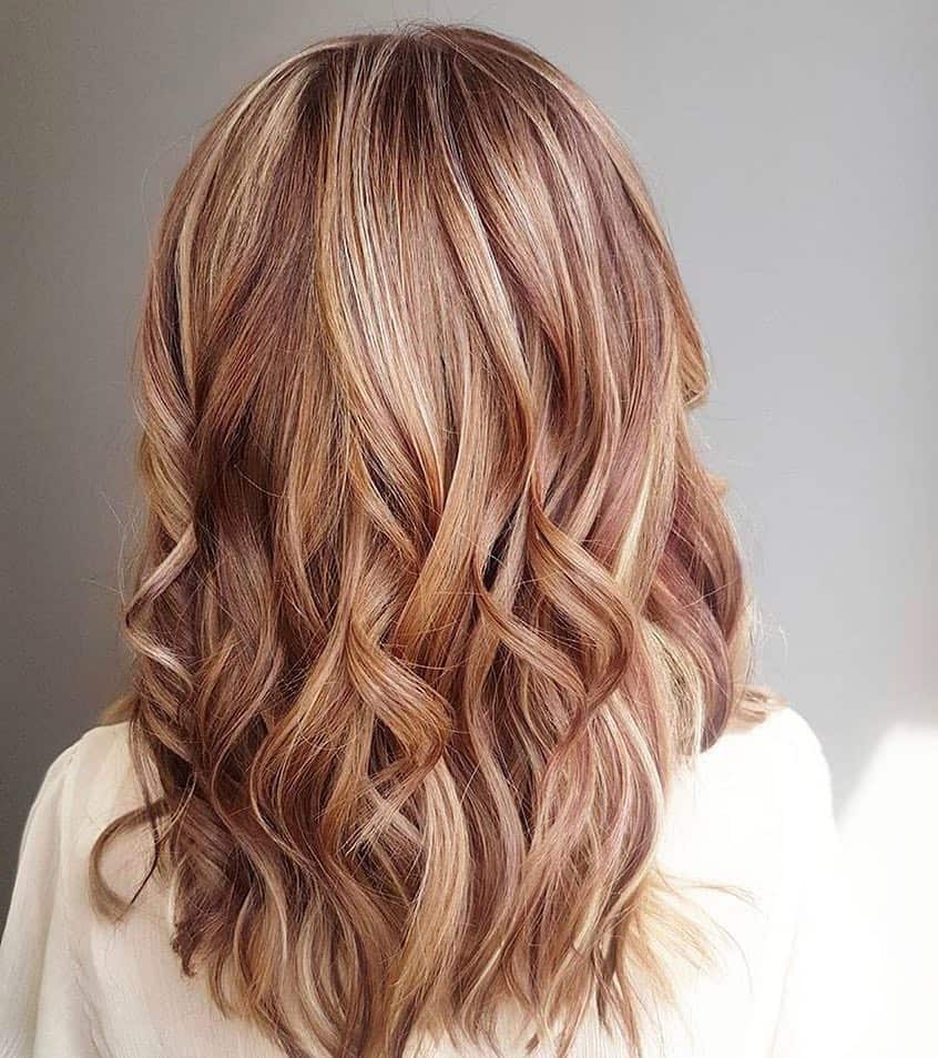 You can find strawberry blonde hair color trends 2020 pictures below