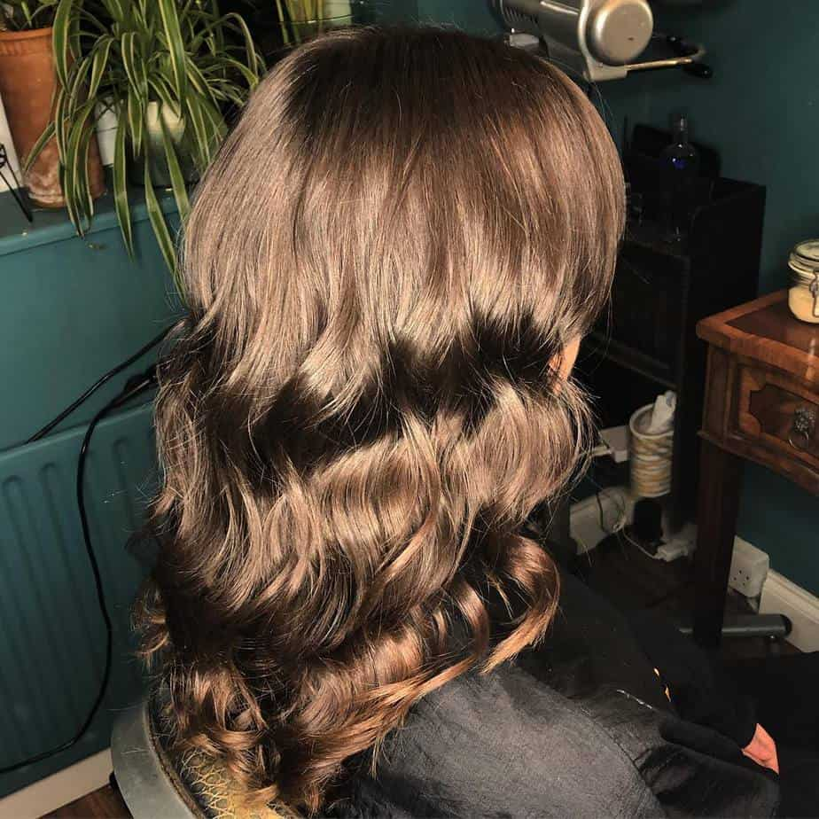 Deep chocolate hair color 2020 trends
