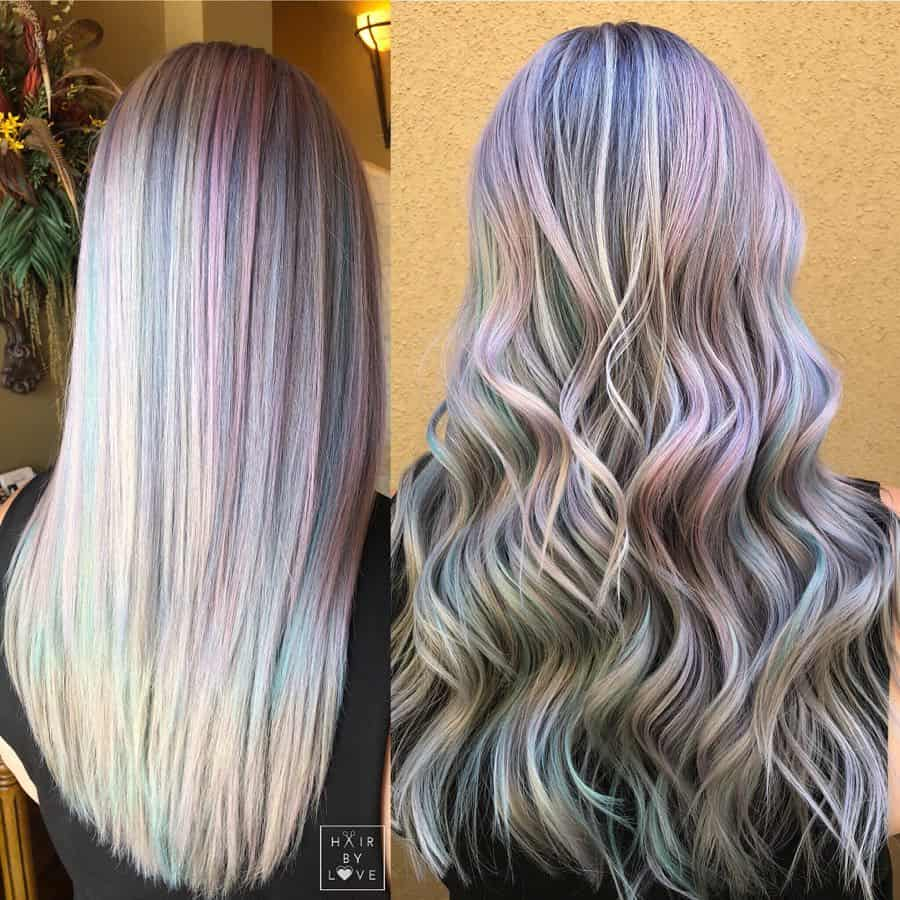 Hollywood opal hair color 2020 trends