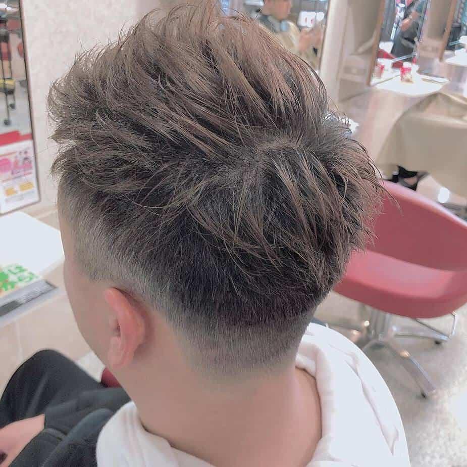 Spiky men short hairstyles 2020