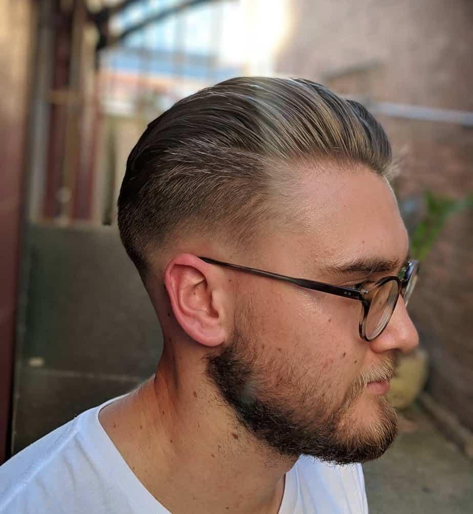 Hitler style men short hair 2020