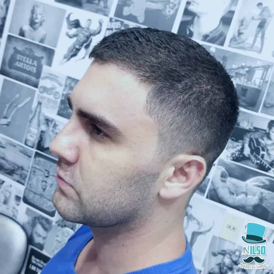 Military style men'e haircut trends 2020