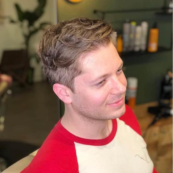 Tennis haircut for men