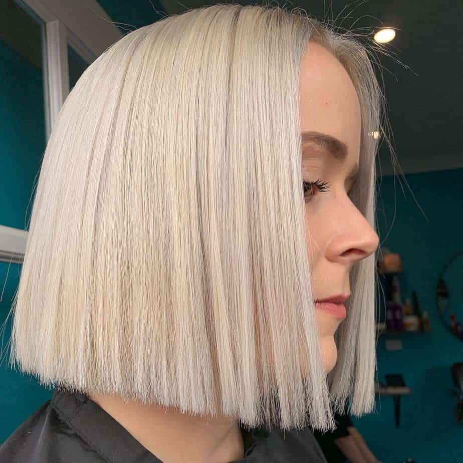 Perfect bob, sleek