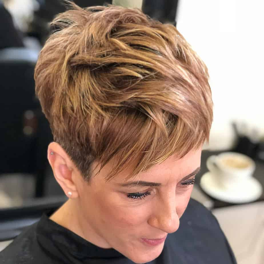 Choppy pixie short haircuts for women 2020