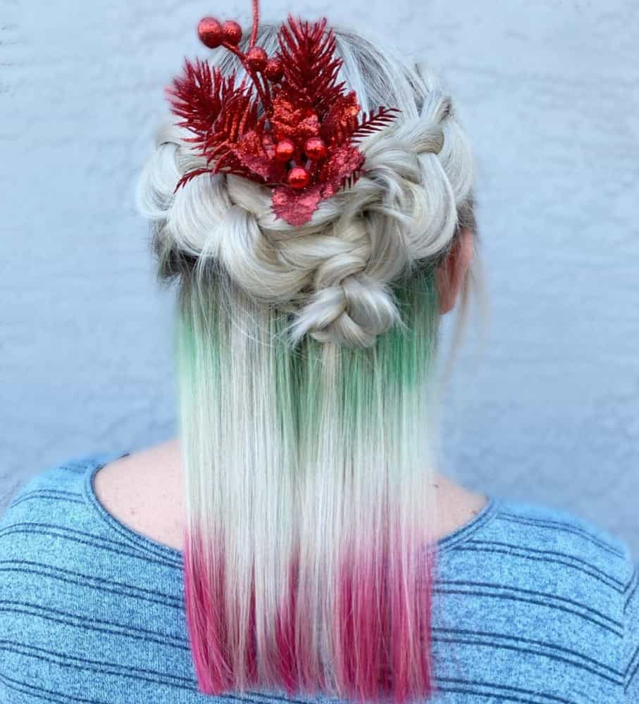 Christmas Hairstyles 2020: Photos And Tips (33+ Photos)