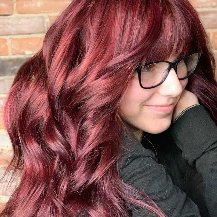 Red Hair Color: Top 20 Exclusive Selection of Shades and Color Features