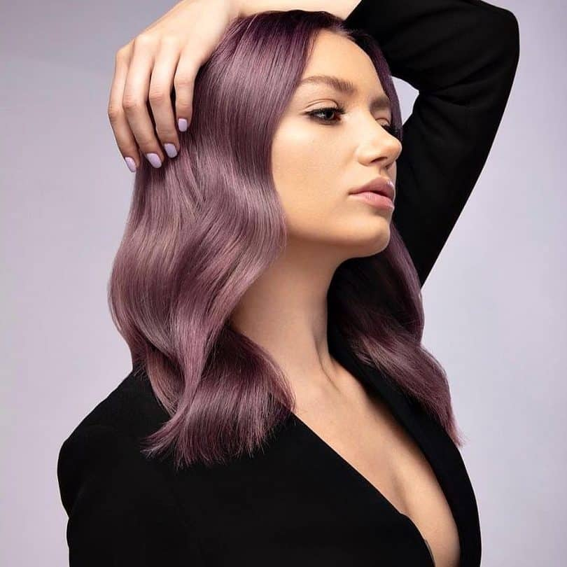 20 Chic Chocolate Mauve Hair Coloring Ideas