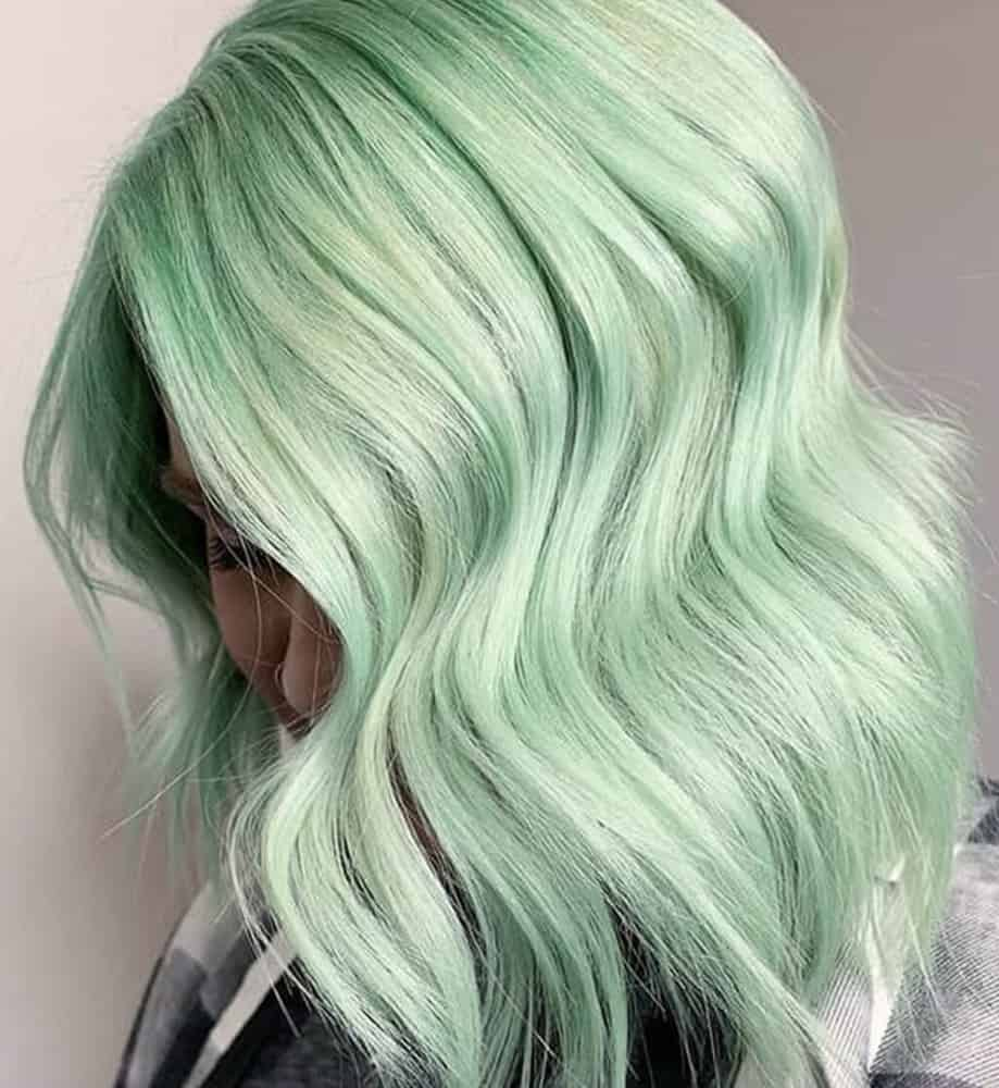 Green Hair Color: 24 Trendiest Color Options You Can Try