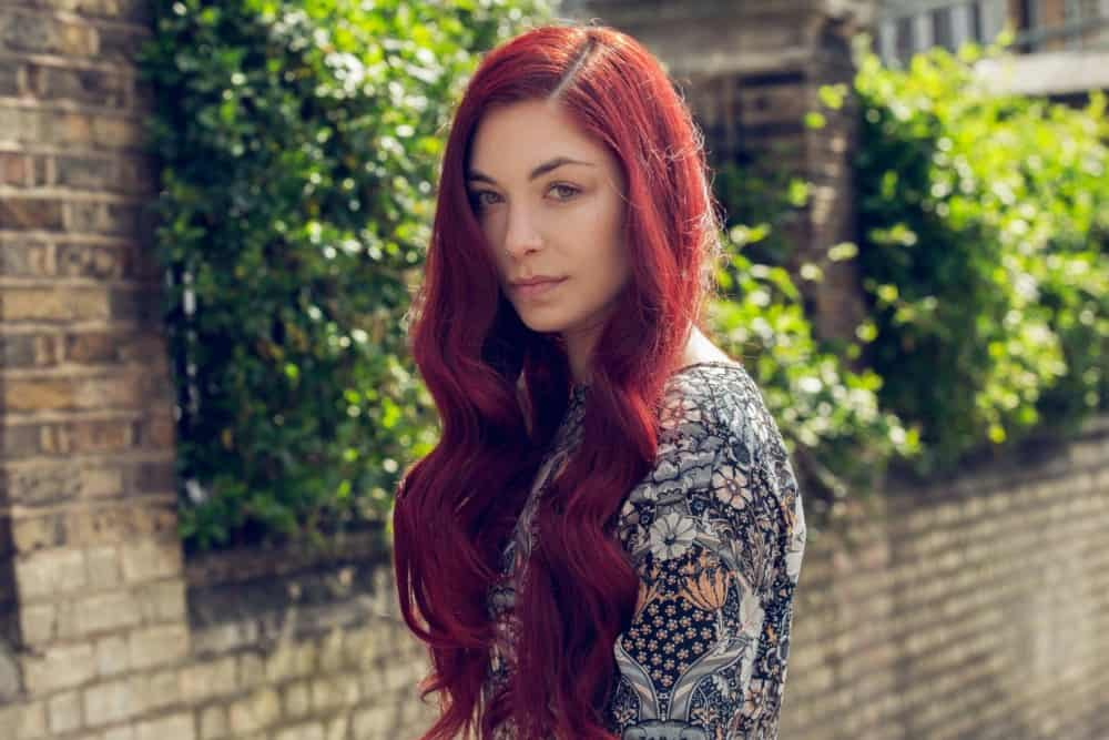 Brightness and Boldness of Burgundy Hair Color: 35 Best Solutions